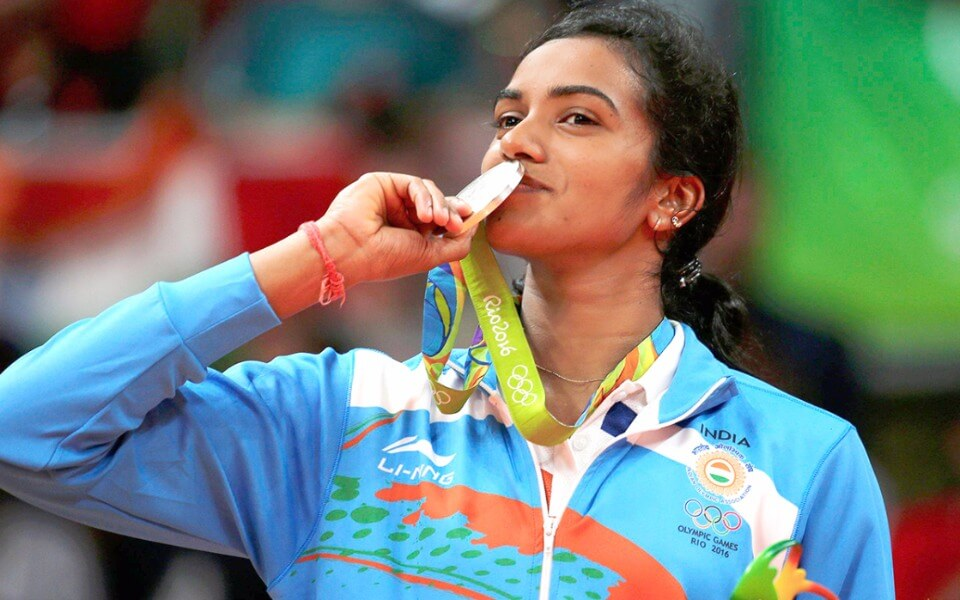PV Sindhu becomes the 1st Indian shuttler to win a gold at World Championships.