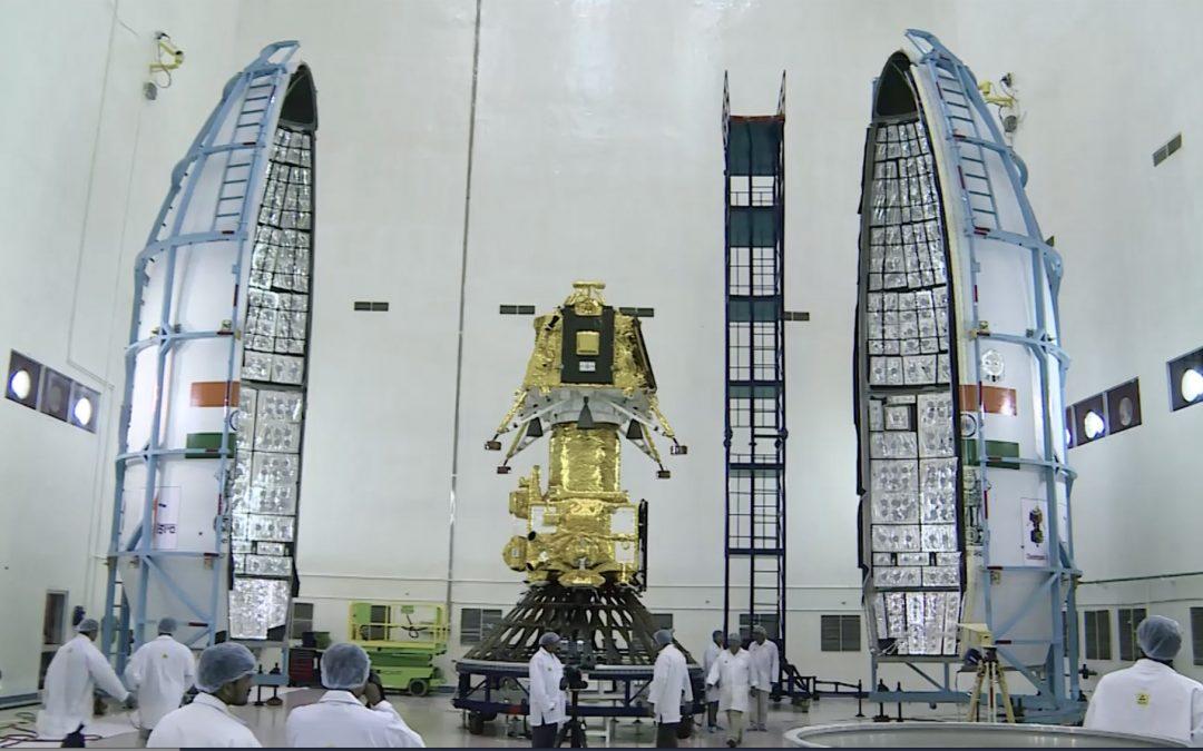 Chandran-2 blast the moon.