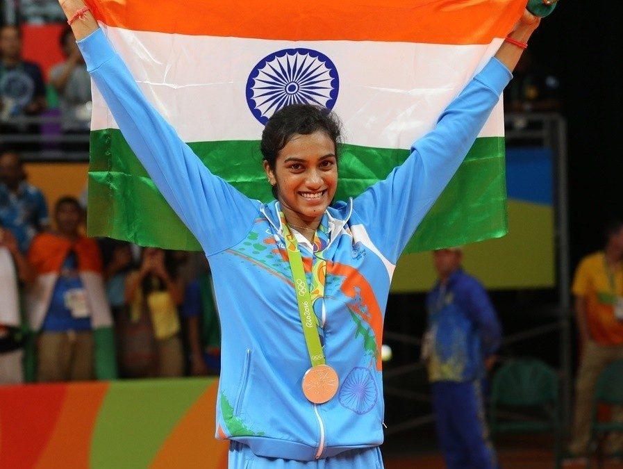 Badminton Champ P.V. Sindhu